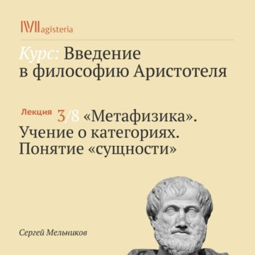 Метафизика. Учение о категориях. Понятие «сущности»