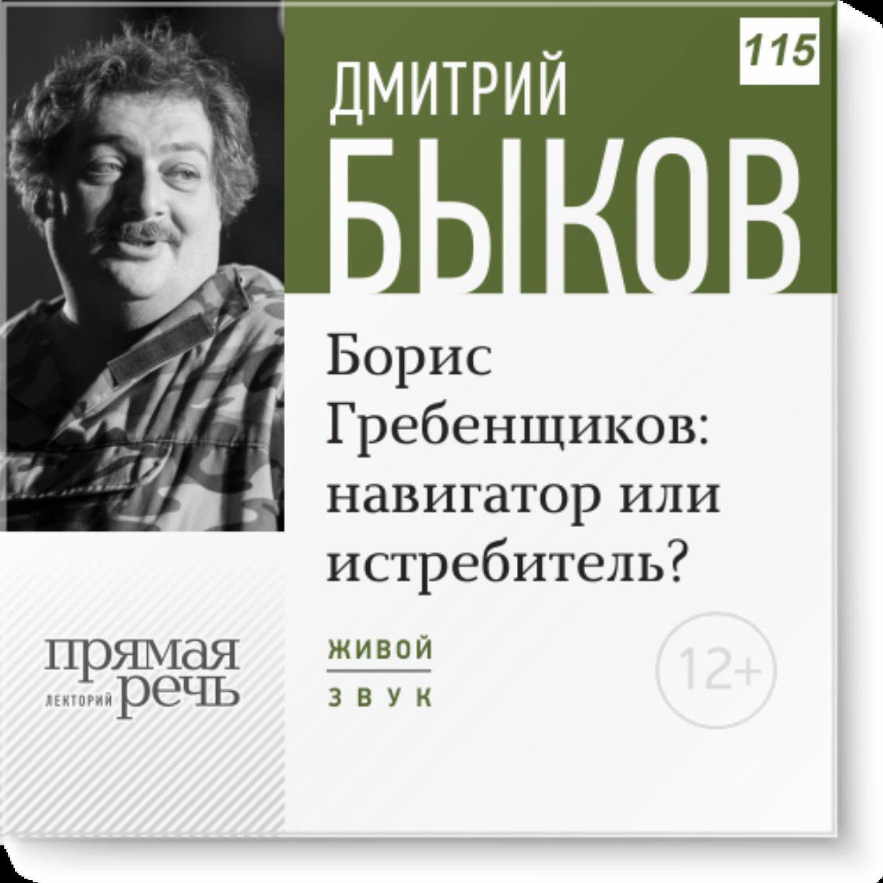 Борис Гребенщиков навигатор или истребитель